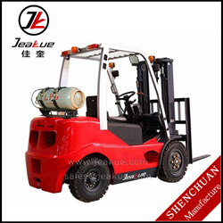 High Quality 3000kg Dual Fuel Gasoline & LPG Forklift Truck with Advanced Transmission