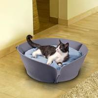 2016 popular design soft and comfortable felt pet bed for promotion