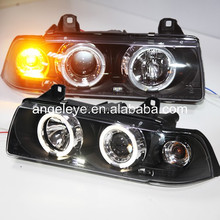 For BMW E36 LED Angel Eyes Head Lamp 1991-1997 year SN