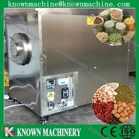 Factory directly supply stainless steel electric 100kg drum type small corn roaster for sale