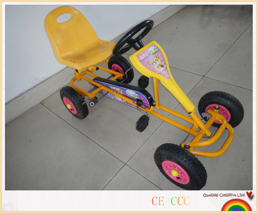 HOT SALE pedal go karts for kid factory pedal go kart F90A