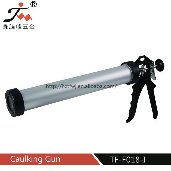 HangZhou 600ml aluminum barrel sausage caulking gun