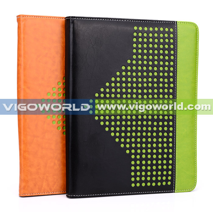 8-inch shockproof universal leather tablet case with card slots and handle New Xpand Series