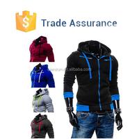 Men's Stylish Slim Fit Warm Hooded Hoodie Sweatshirt Zipper Coat Hoodie Jacket Outwear Hoodie Sweater