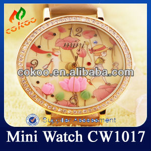 Paypal Q&Q Japan Brand Gift Cute Watch CW107