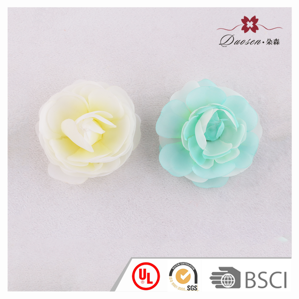 Wedding hair accessories handmade artificial flower alligator hair clips