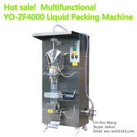 automatic milk low cost price liquid water pouch packing machine YO-ZF4000