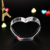 3d photo Heart shaped crystal gift for wedding return gifts