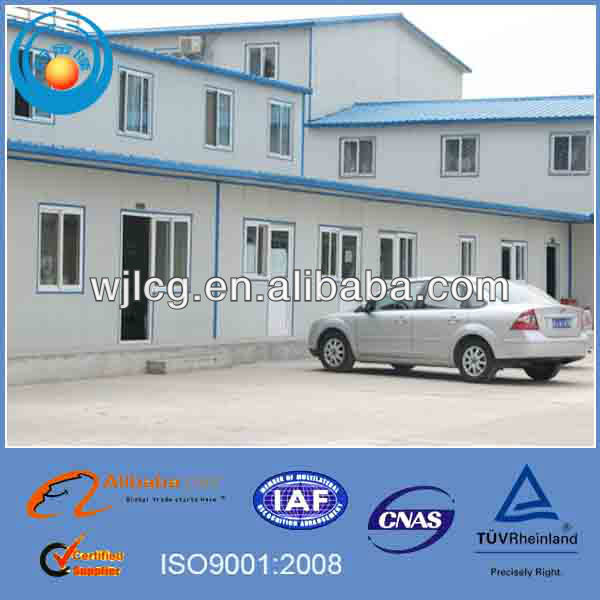 sandwich panel prefab house mobile home/design light steel structure house