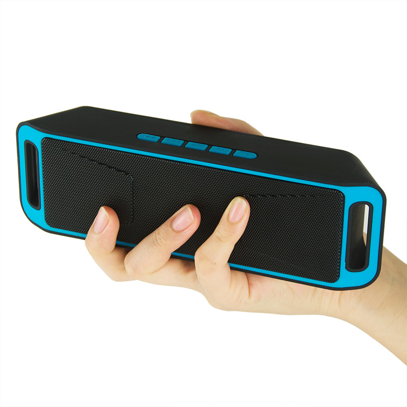2017 Wholesaler Portable Mini Wireless Bluetooth Speaker Outdoors Music Receiver with FM Radio TF Card Music <strong>Player</strong>