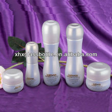 30Ml~130Ml Cosmetic Glass Bottle Bowling Design Cosmetic Packing Bottle