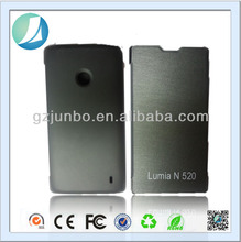 Black High Quality Hard Pc back cover for nokia lumia 520