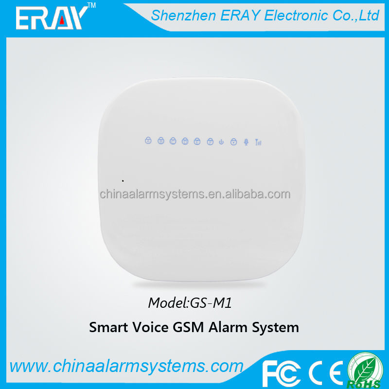 Hot sell 2014!!! smart box voice simcom module gsm home alarm system with 433/315MHZ