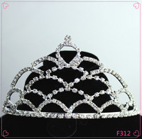 New fashion Party Beauty Queen Rhinestone Crown for sale