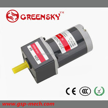 New brand 10W small electric high torque brushed dc gear motor