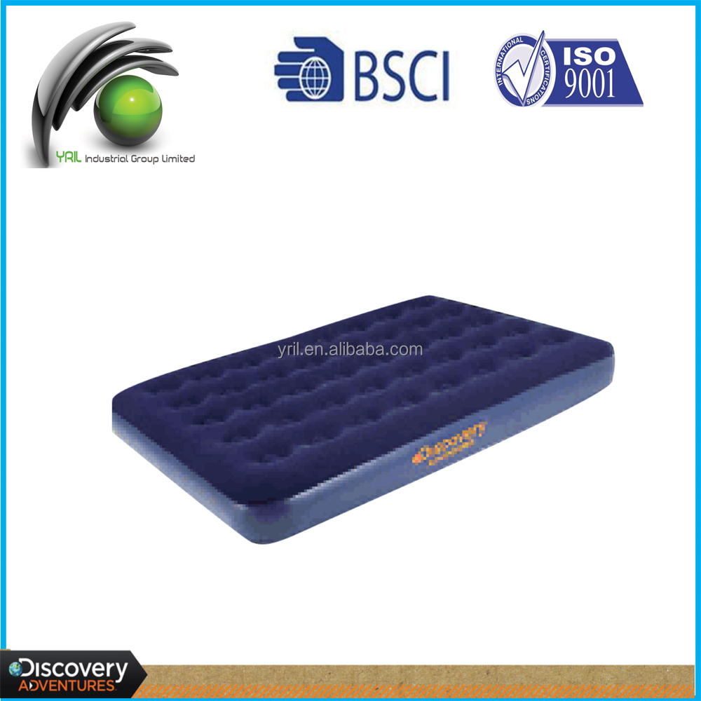 Inflatable Outdoor Doube Air Bed With Pump