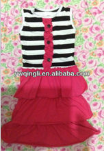 childrens outfits new kids clothing sets summer A full-length skirt in dress beautiful dress skirt