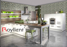 Indoor PVC Mosaic Design Self-adhesive Wallpaper for Home Decoration