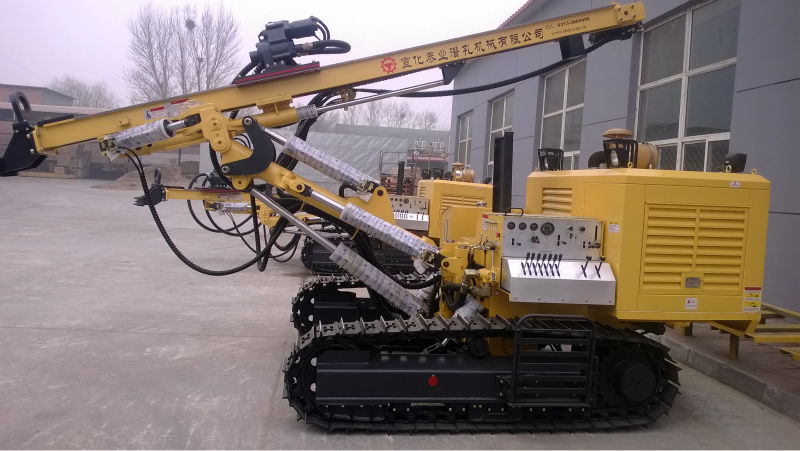 100% Top Drive 40M Deep Open-air Mountain Crawler Oil And Gas Exploration Drilling Equipment For Sales