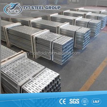 automatic slotted steel C channell shaped section for Facory direct sale