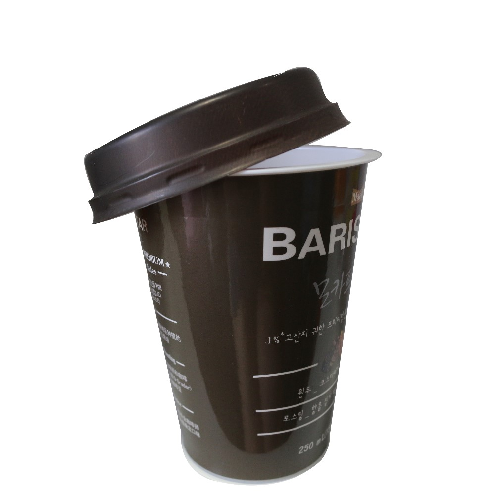 12oz/16oz/20oz disposable hot drink coffee paper cup with lid
