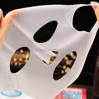 Popular smile full silicone rubber beauty face mask for making