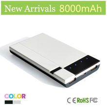 New Product Mobile Phone Battery Charger 8000 Mah Powerbank 2 Usb New Product Phones And Laptops
