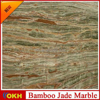 polished Beige marble tile for home decoration