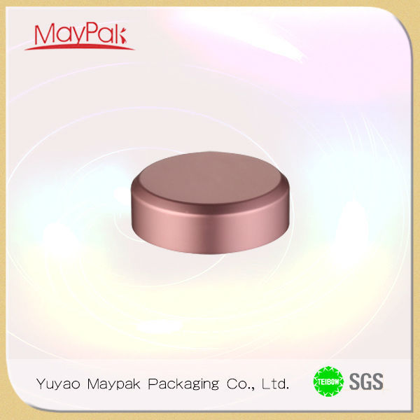 china supplier plastic container with lid metal aluminum foil lid