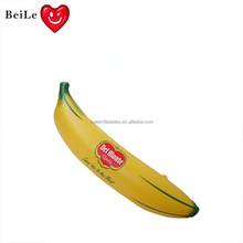 Inflatable banana fruit model for advertising