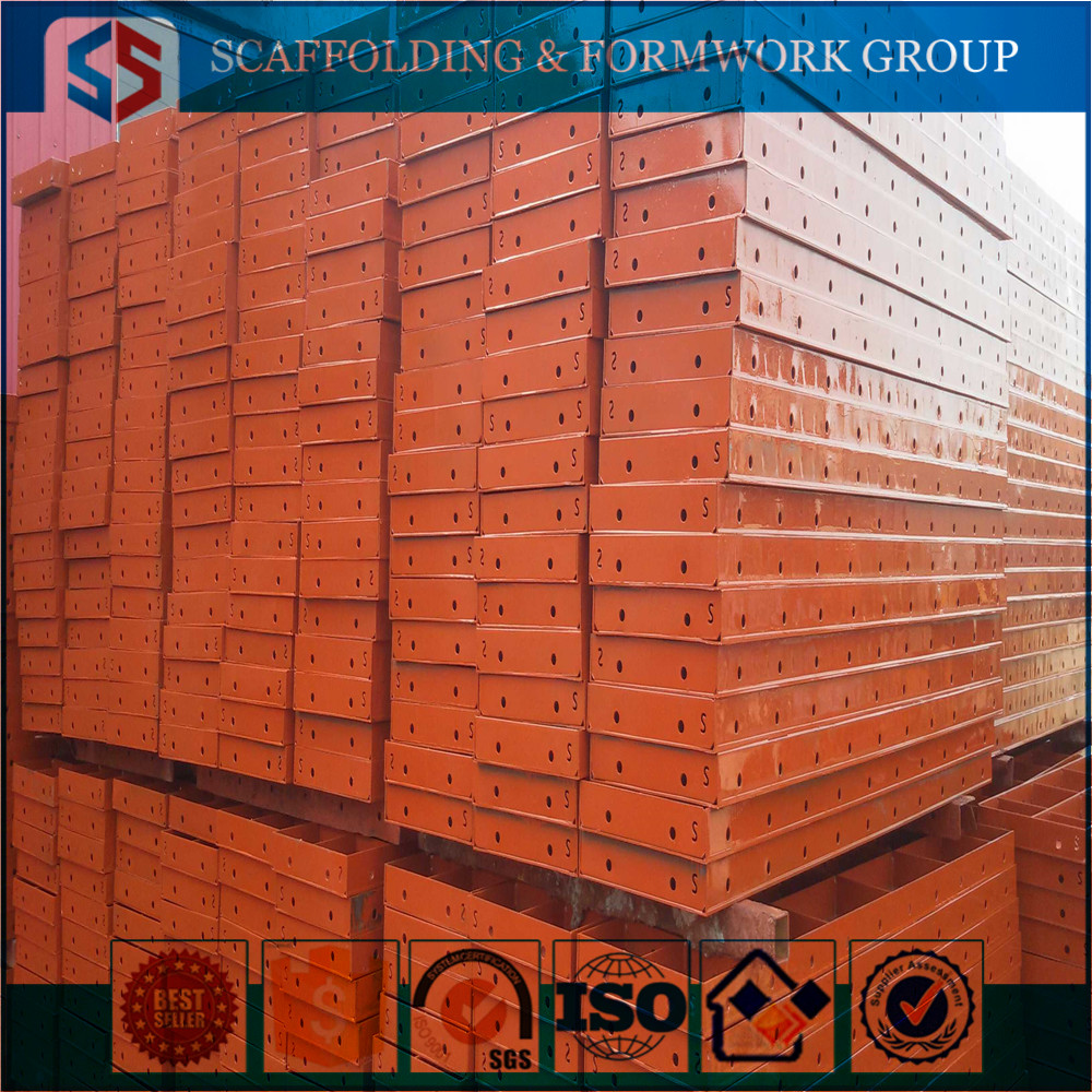 Tianjin Shisheng Group Construction Materials Concrete/Painted Roof Formwork For Low Price