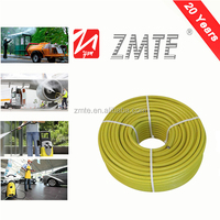 1/2 layer steel wire reinforced oil/water based car wash machine water hose