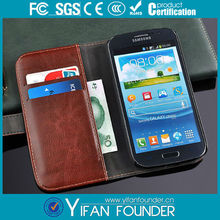 Hot selling Stereo Flip pu leather case For Samsung Galaxy Grand Duos i9082