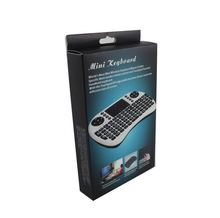 Keyboard i8 air mouse 2.4G Li Battery Wireless mini keyboard for android tv box tablet pc