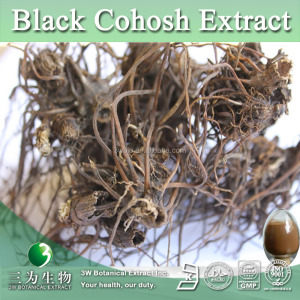 Kosher 2.5%-5% Triterpene Glycosides Black Cohosh P.E. Powder