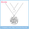 Letter necklace pendant the love between a mother and daughter is foever letter m pendant