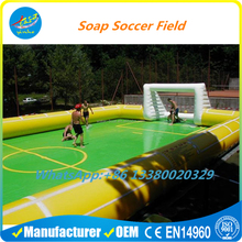 Inflatable Water Soccer Pitch Football Soap Field