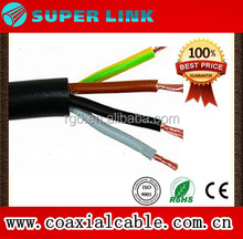Superlink2017 CAR AUTO CABLE H05VV-F UL2464 4*0.75/1.0/1.5/2.5 MM2 300/500V high quality ELECTRIC CABLE