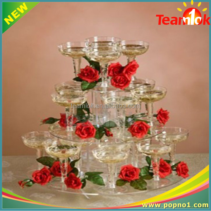 china cake stand with 3 tiers crystal clear cake stand in acrylic