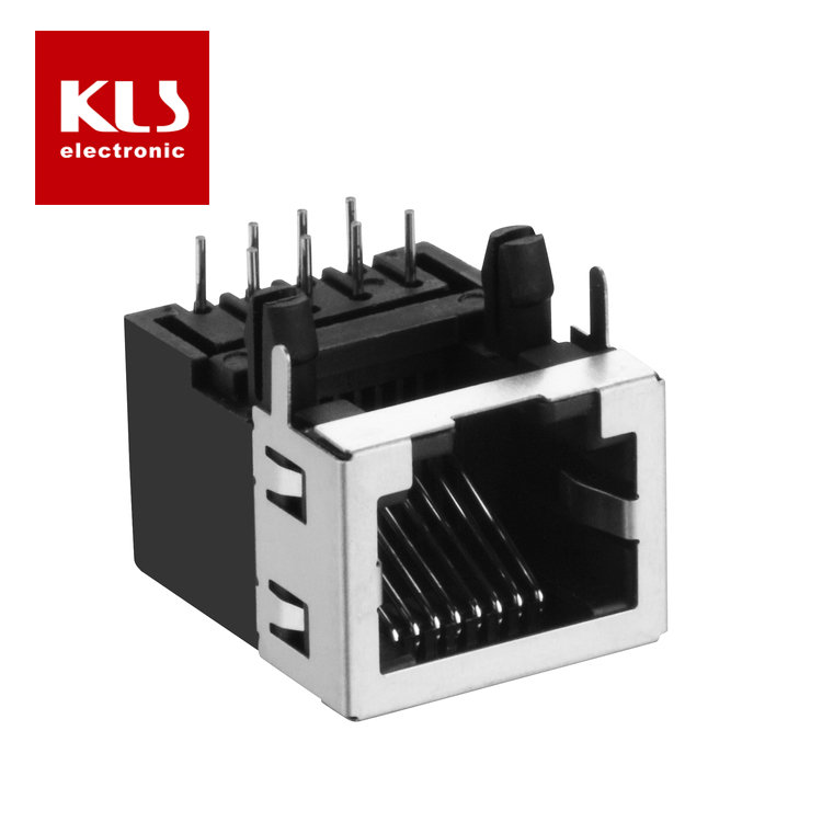 RJ45 Without Magnetics 8P8C 1X1 with Half Shield