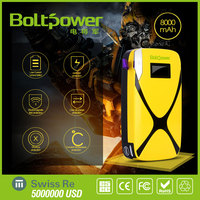 China Factory Charging 12v Battery Boltpower X5 Rechargeable Car Jumper Box