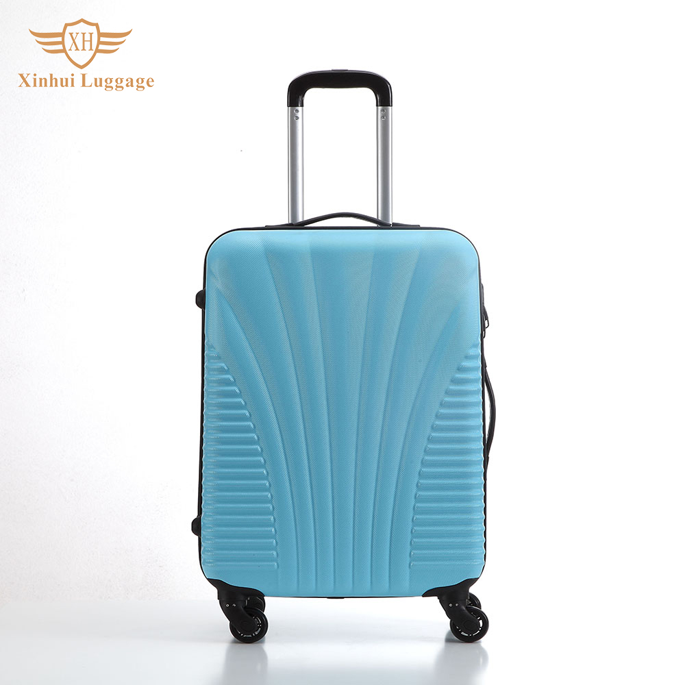 New design fashion special unique travel trolley luggage bag