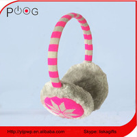 winter kids girls boys earmuffs fake fur ear muff