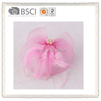 Bridalface and hair steamer, make bow hair clip ,pink color for wedding decoration