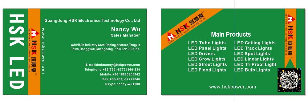 LED Tri Proof Light with tubes