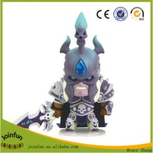 custom make pvc plastic game figure toy, custom lengend miniature video game character figurines