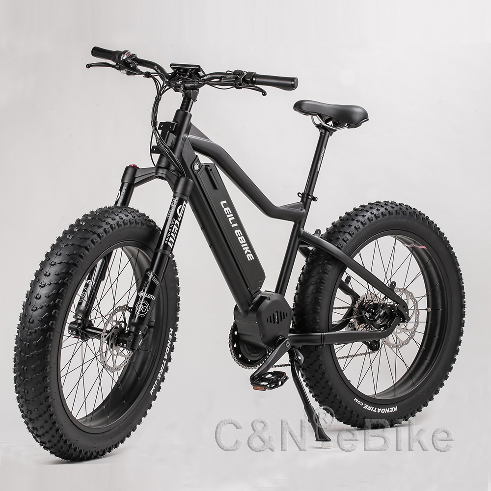 2018 bafang mid drive Fat tyre electric bike bicycle with <strong>CE</strong>