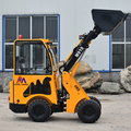 Sale 1.2 ton payload front end new hydraulic small articulated wheel loaders