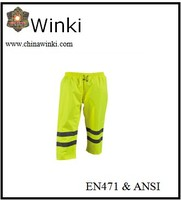 Yellow Oxford Reflective Safety Trousers