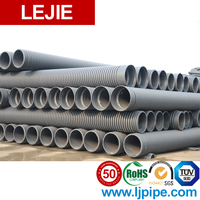 250mm hdpe black 10 inch drain pipe